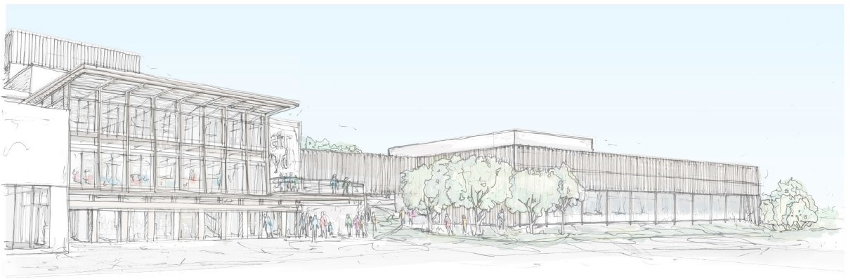 Artist's impression of the new Archive Building at Theatr Clwyd.jpg